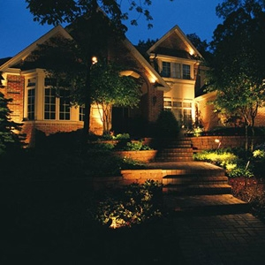 Landscaping with Landscape Lighting