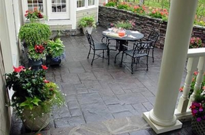 Landscaping Ideas Stamped Concrete