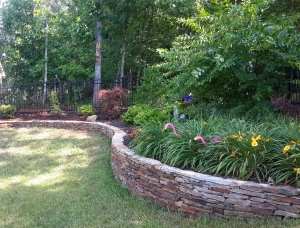 Hardscapes... landscape wall