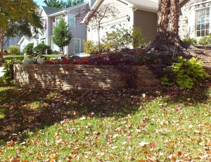 Hardscapes ... landscape retaining wall